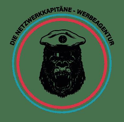 Die Netzwerkkapitäne Logo Affe