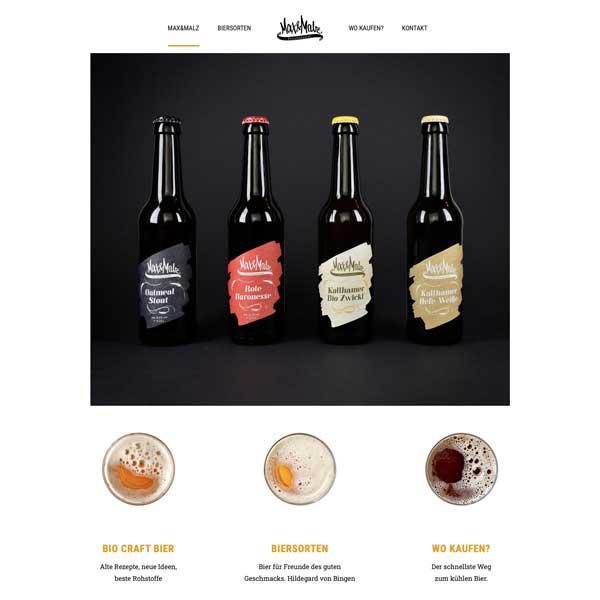 Max und Malz Webdesign - Business Starter Box- Werbeagentur Linz-Land