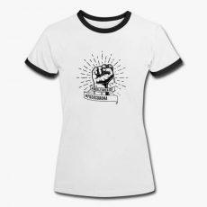 Fck_Corona_Bsbll_Shirt_Frauen