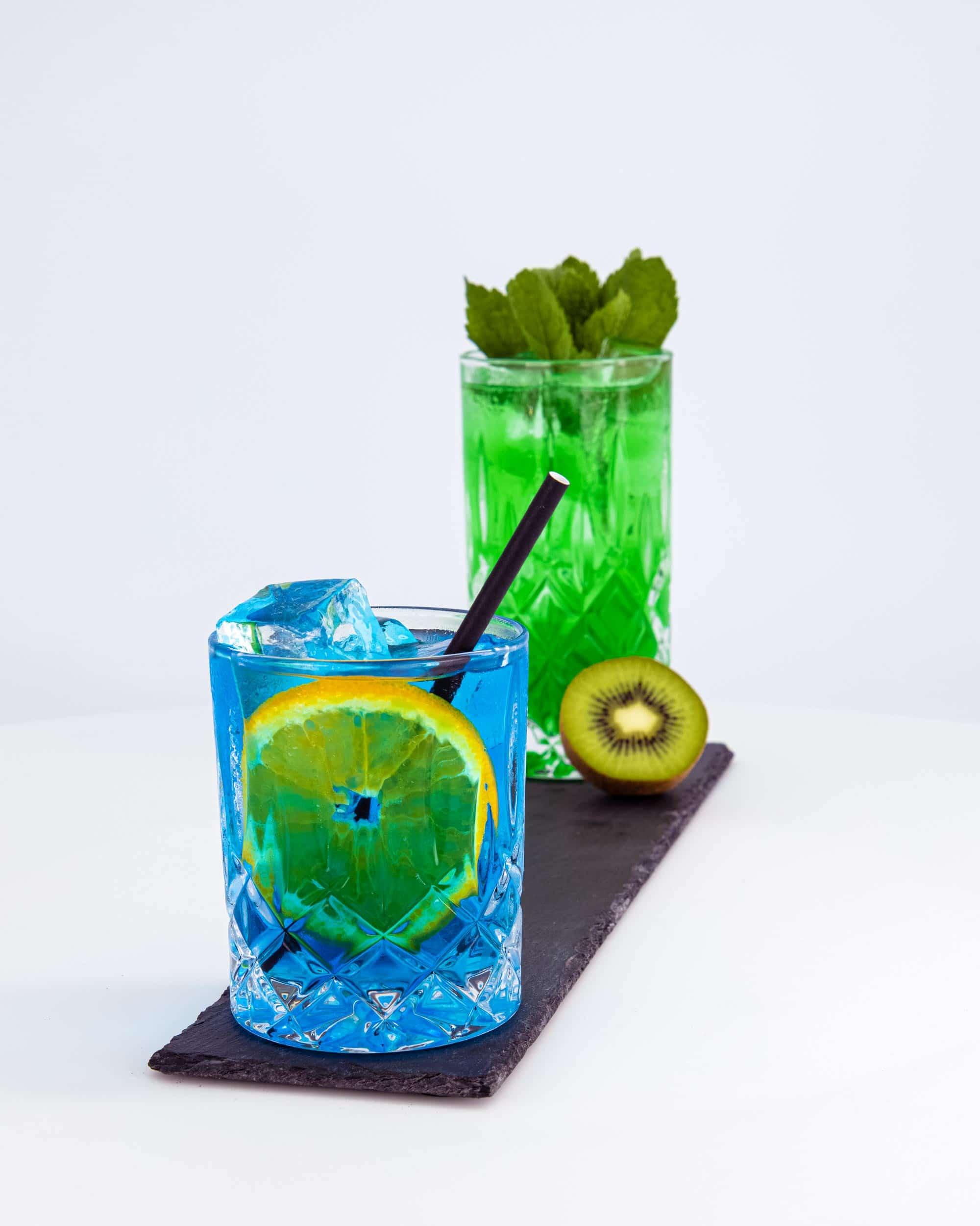 Die Netzwerkkapitäne - Cocktail Blau und Grün